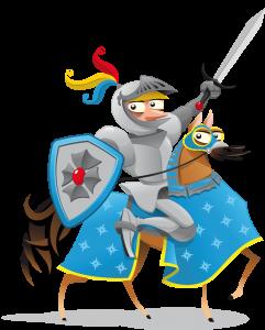 Chasse au trésor des chevaliers