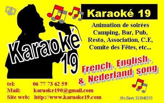 coordonnées karaoké 19