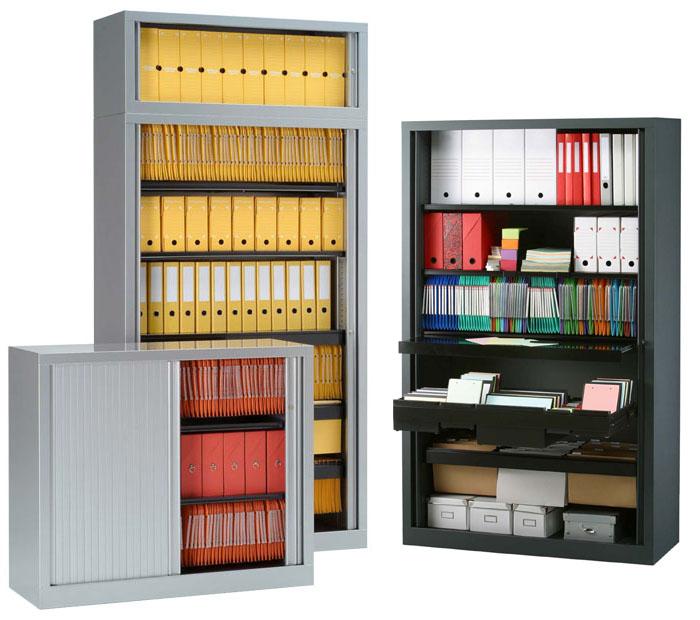 La conception d 39 armoires vestiaires m talliques creasite - Bureau dans une armoire ...