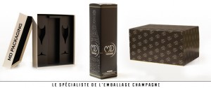 emballages Champagne par MD Packaging