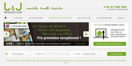 lj-promotion.fr - L'expert de la promotion immobiliere vers Toulouse