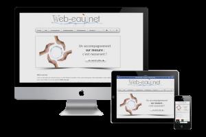 web-eau.net, site internet, référencement naturel, emailing et newsletter