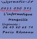 Réparation informatique Paris 19 75019