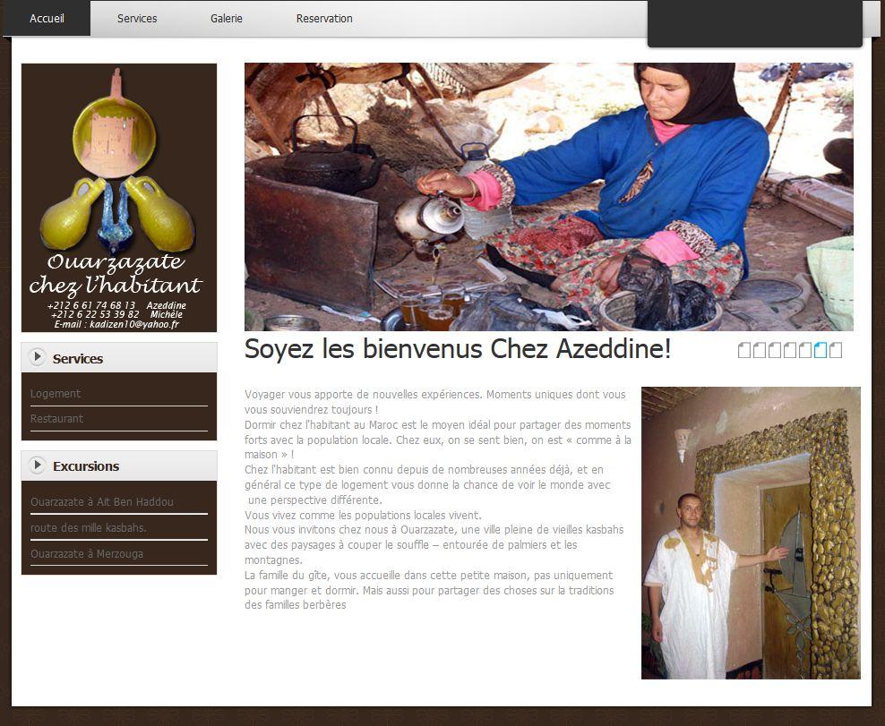 Ouarzazate chez l'habitant