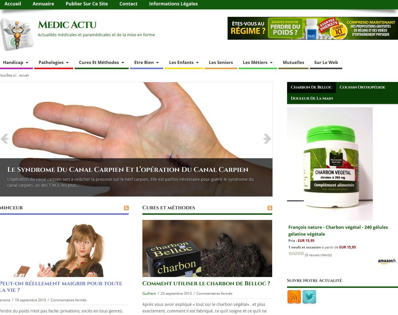 Site annuaire santé