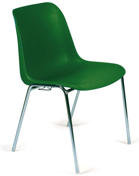 chaise helene verte