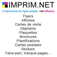 IMPRIM.NET Imprimerie en ligne