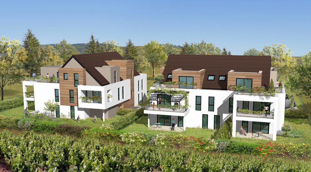 Appartement neuf Obernai