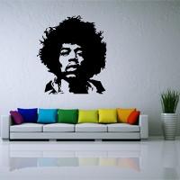 Jimi Hendrix en sticker
