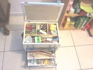 Ma boite à pêche