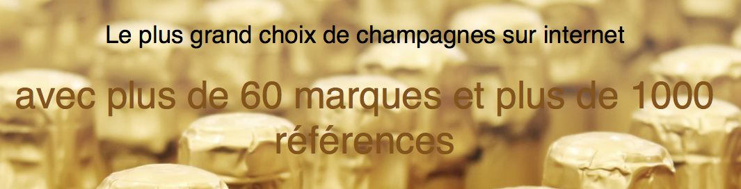 Achat de champagne