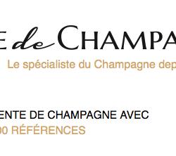 Vente en ligne de champagne