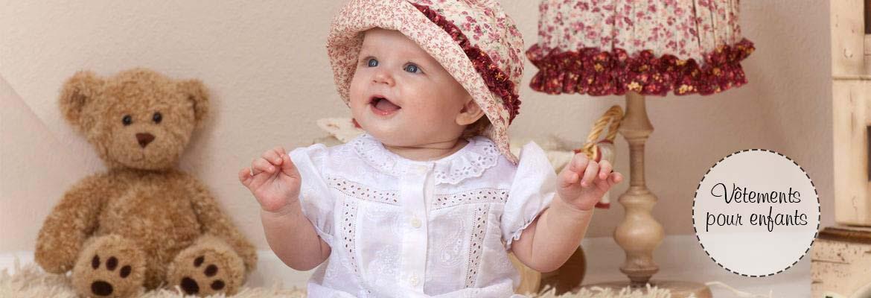 vetements bébé fait main