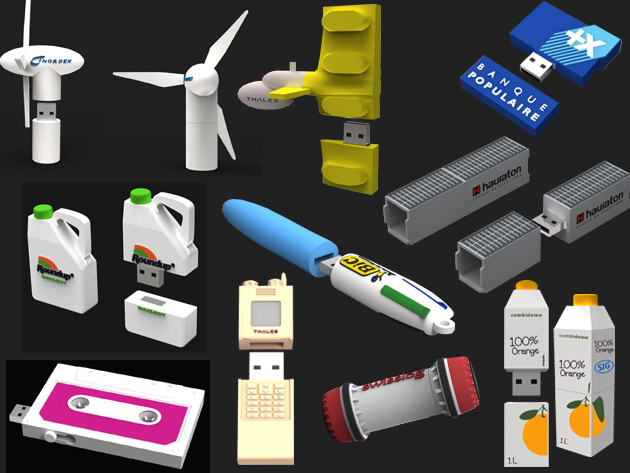 usb sur mesure marketing