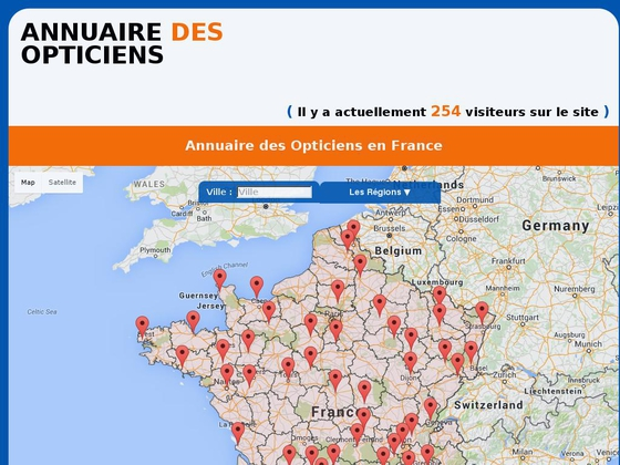 annuaire opticiens