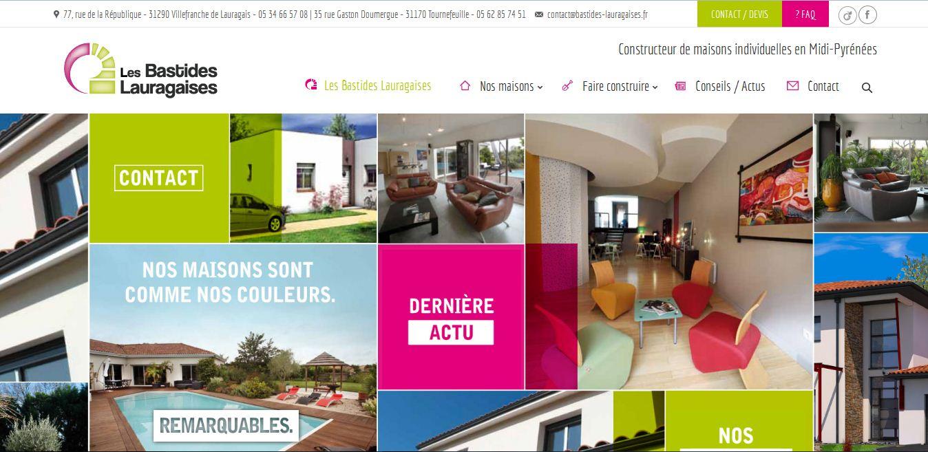 la construction de maisons individuelles avec les bastides lauragaises annuaire de site web de. Black Bedroom Furniture Sets. Home Design Ideas