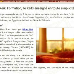 Reiki Formation