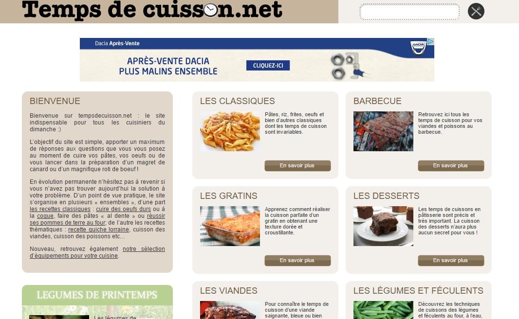 Apprendre ma triser les meilleurs temps de cuisson annuaire de site web de qualit - Temps de cuisson tartiflette ...